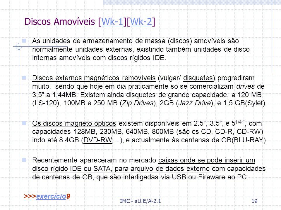 Discos Amovíveis [Wk-1][Wk-2]